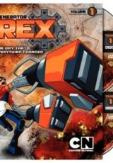 Ben 10 e Mutante Rex Heróis Unidos Dublado